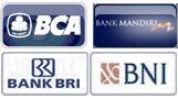 Bank untuk transaksi pulsa